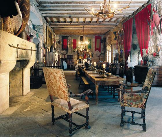 Inside The Castle Chillingham Castlechillingham Castle