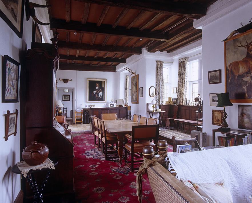 Grey Apartment Chillingham Castle